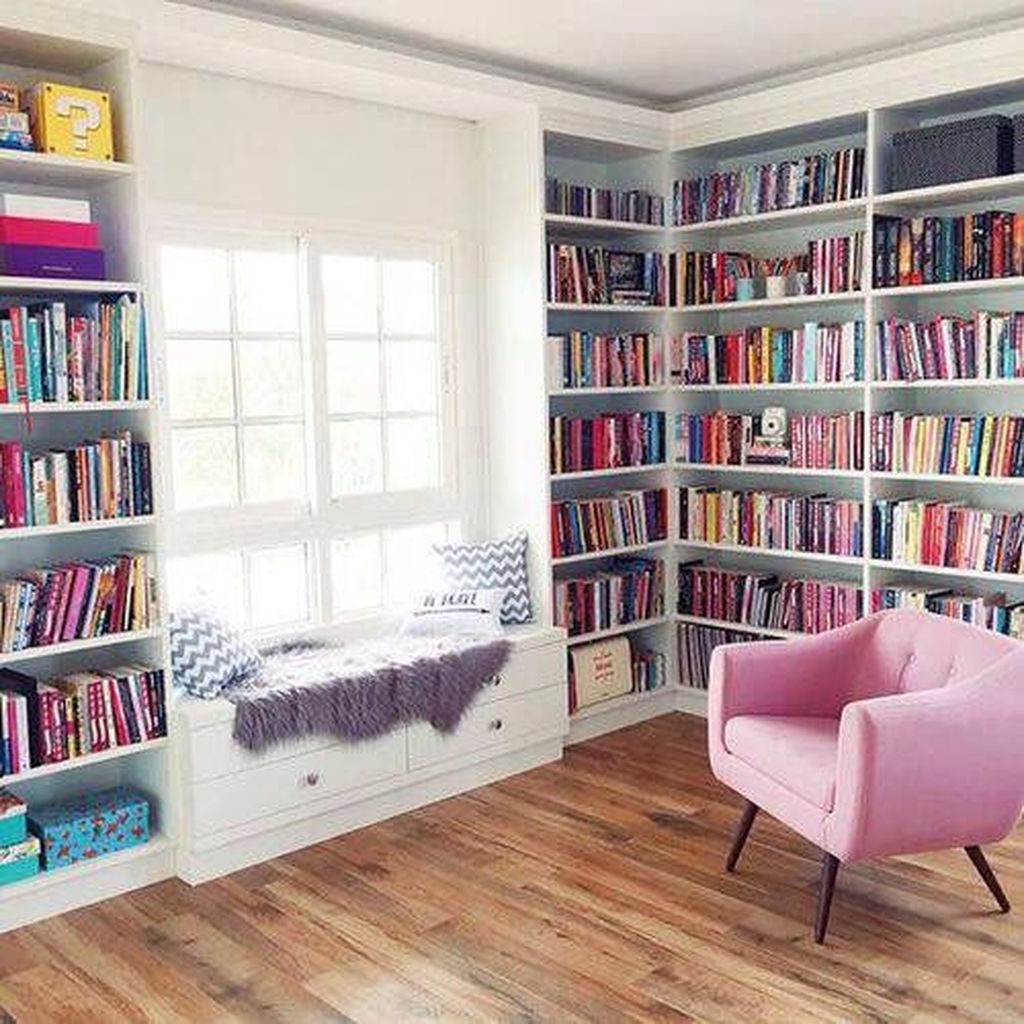 Smart Library Design Ideas For Home To Add To Your List 18