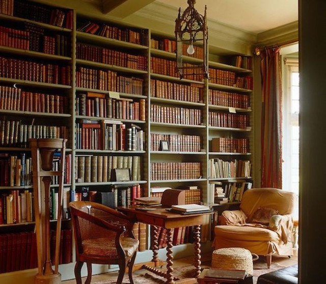 Smart Library Design Ideas For Home To Add To Your List 29