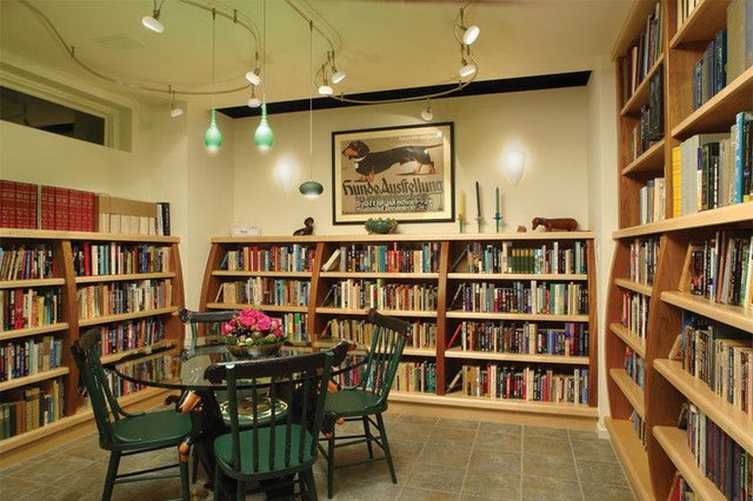 Smart Library Design Ideas For Home To Add To Your List 37