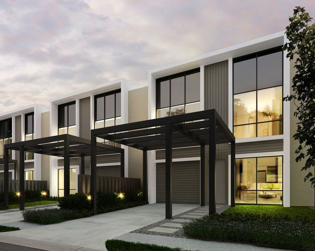 Trendy Contemporary Townhouse Design Ideas That Make Your Place Look Cool 06