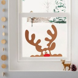 Beautiful Window Decorating Ideas For Christmas 32