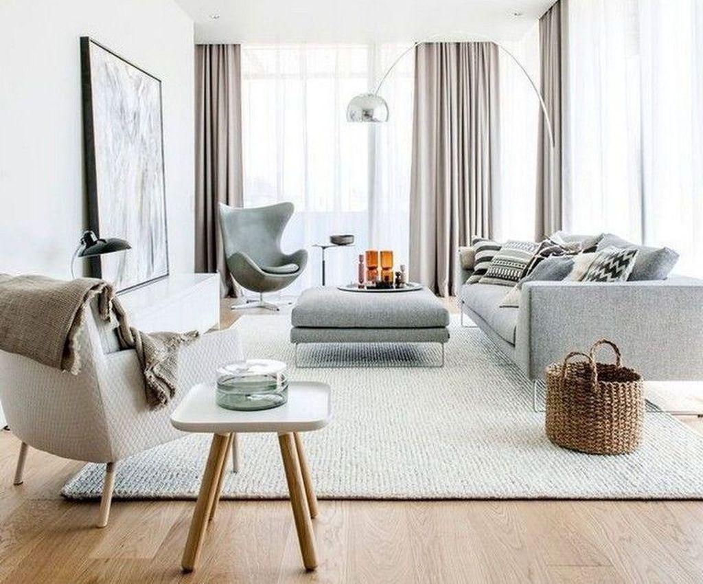 Best Minimalist Living Room Decorations Ideas 13
