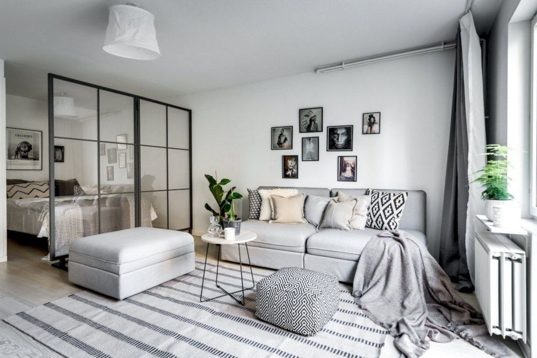 Brilliant Small Apartment Interior Design Ideas 22