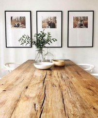Brilliant Wood Dining Table Design Ideas That Trend Today 05