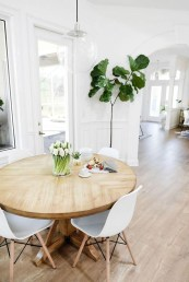Brilliant Wood Dining Table Design Ideas That Trend Today 13