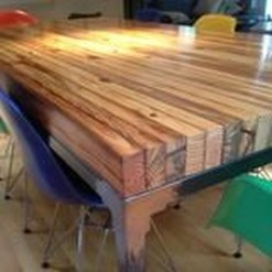 Brilliant Wood Dining Table Design Ideas That Trend Today 21