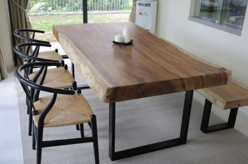 Brilliant Wood Dining Table Design Ideas That Trend Today 31