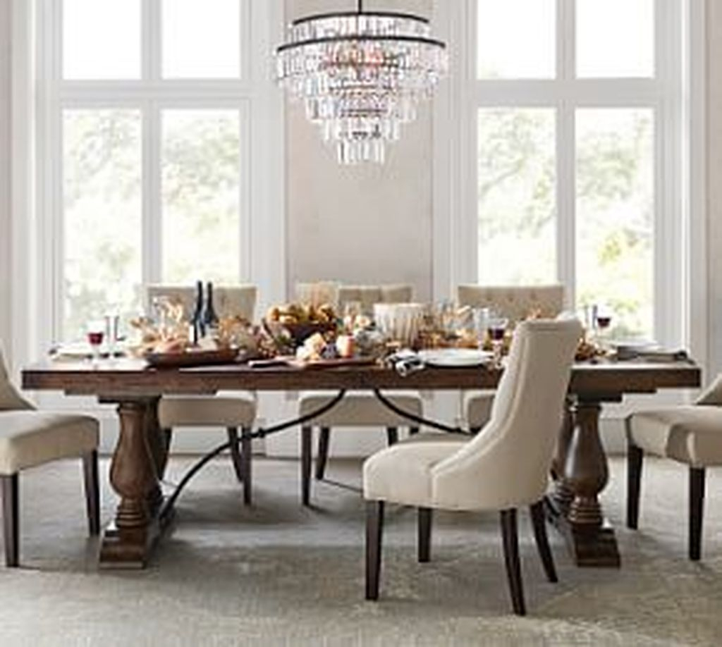 Brilliant Wood Dining Table Design Ideas That Trend Today 35