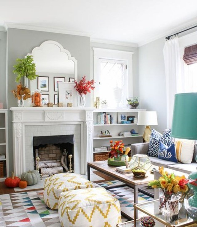 Casual Colorful Home Decor Ideas To Apply Asap 25