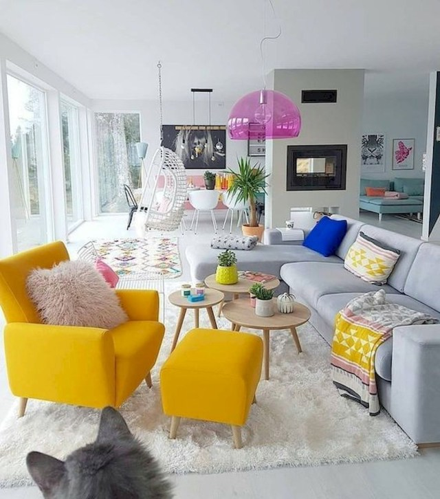 Casual Colorful Home Decor Ideas To Apply Asap 26