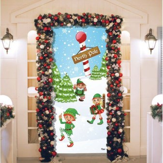 Creative Christmas Door Decoration Ideas To Inspire You 03