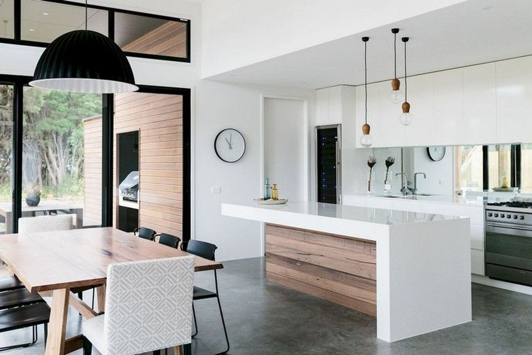 Elegant Minimalist Kitchen Design Ideas For Small Space To Try 12