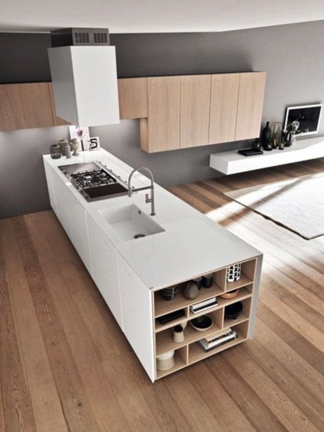 Elegant Minimalist Kitchen Design Ideas For Small Space To Try 31