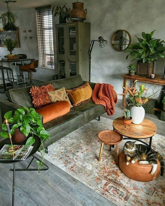 Enchanting Living Room Decor Ideas That Trending This Winter 21