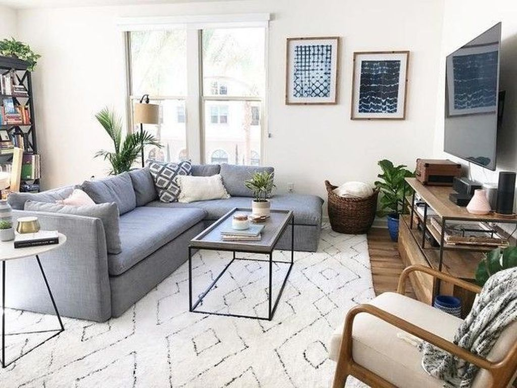 Enchanting Living Room Decor Ideas That Trending This Winter 25