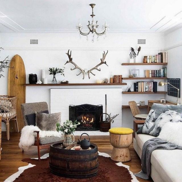 Enchanting Living Room Decor Ideas That Trending This Winter 30