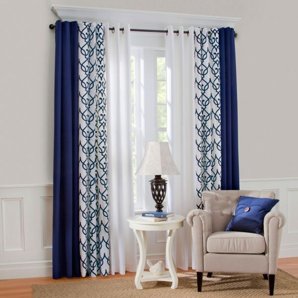 Inexpensive Living Room Curtain Design Ideas On A Budget 09