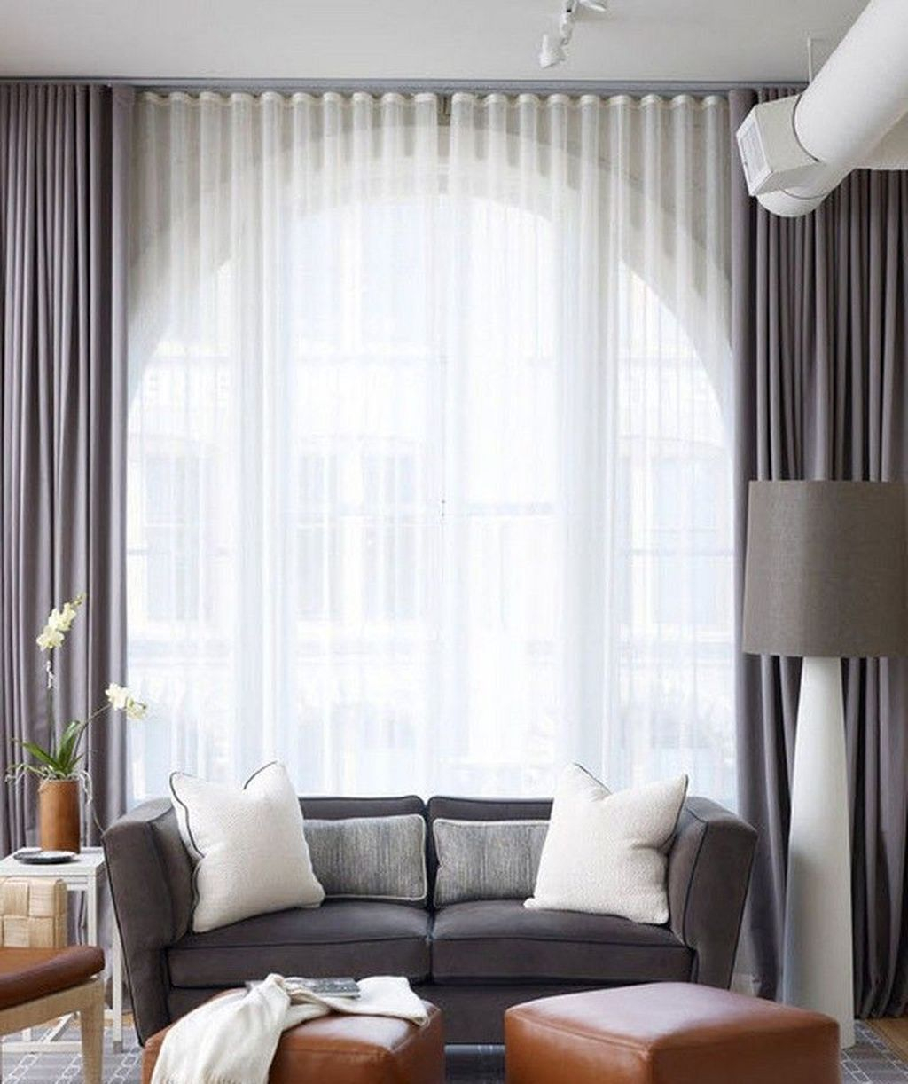 Inexpensive Living Room Curtain Design Ideas On A Budget 24