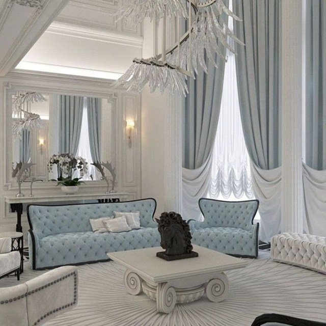 Inexpensive Living Room Curtain Design Ideas On A Budget 32