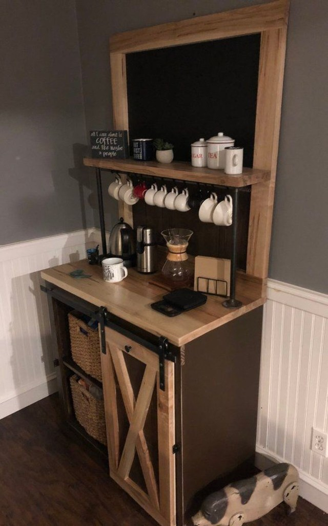 Magnificient Home Coffee Bar Design Ideas You Must Have 04