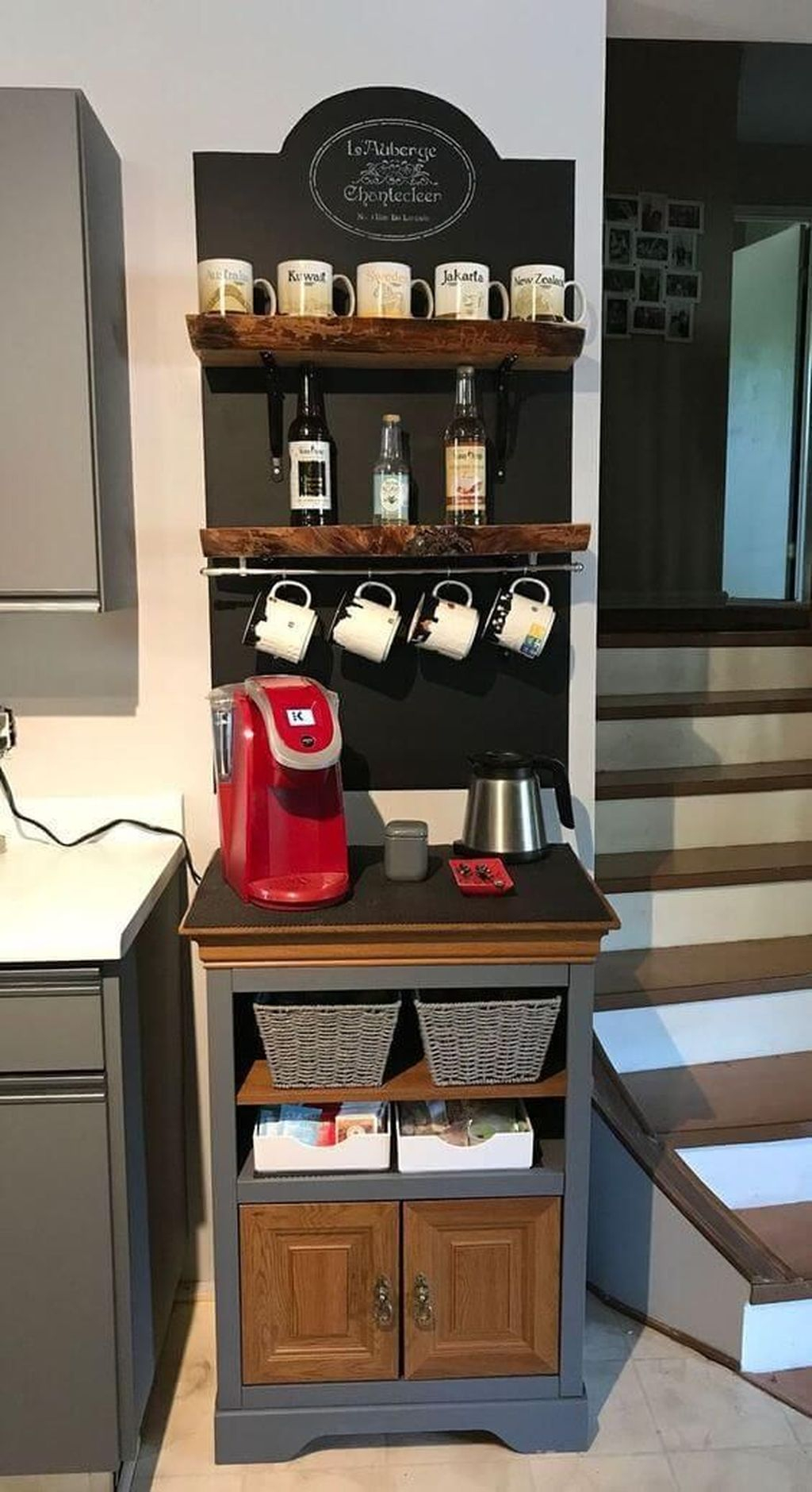 Magnificient Home Coffee Bar Design Ideas You Must Have 05