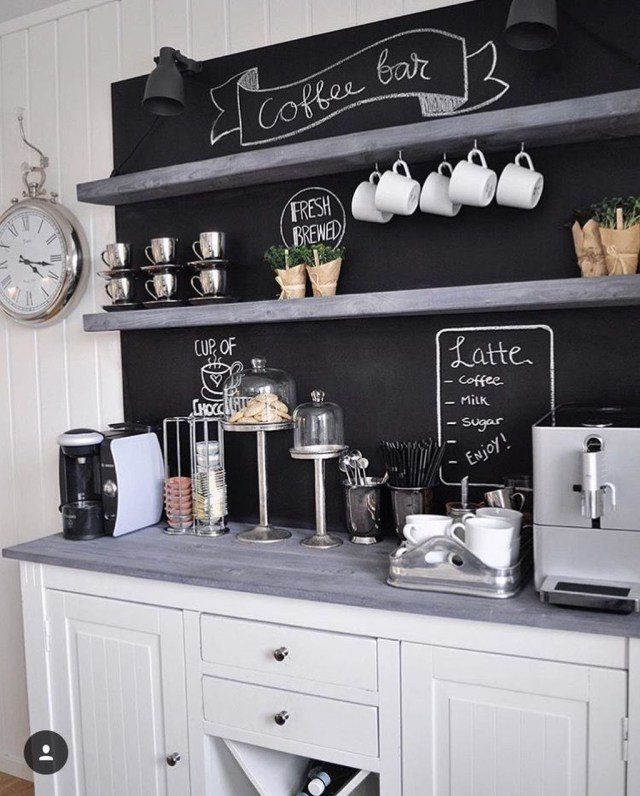 Magnificient Home Coffee Bar Design Ideas You Must Have 07