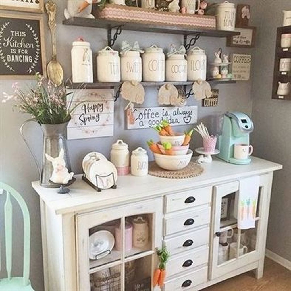 Magnificient Home Coffee Bar Design Ideas You Must Have 10