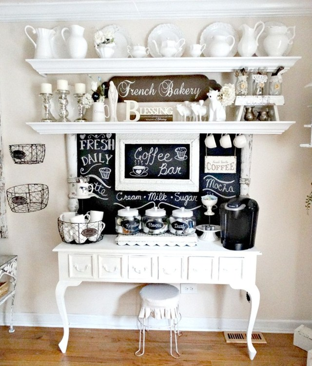 Magnificient Home Coffee Bar Design Ideas You Must Have 15