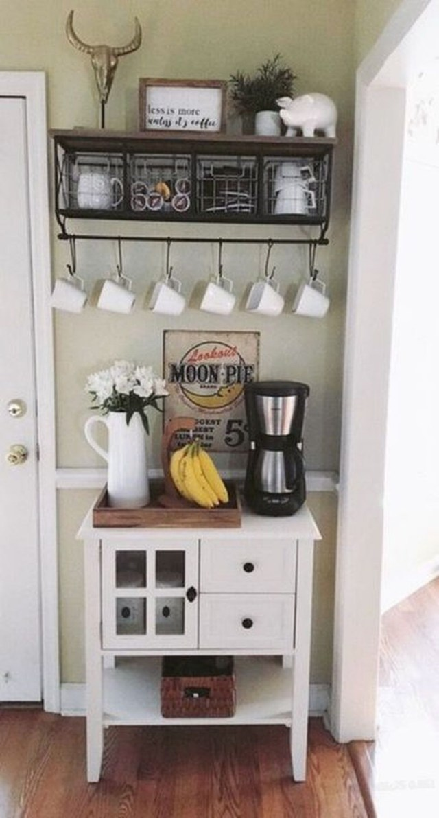 Magnificient Home Coffee Bar Design Ideas You Must Have 17