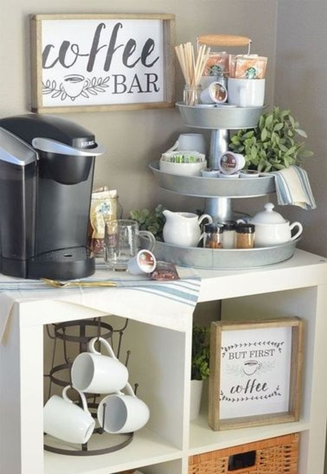Magnificient Home Coffee Bar Design Ideas You Must Have 19