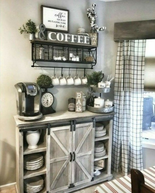 Magnificient Home Coffee Bar Design Ideas You Must Have 22