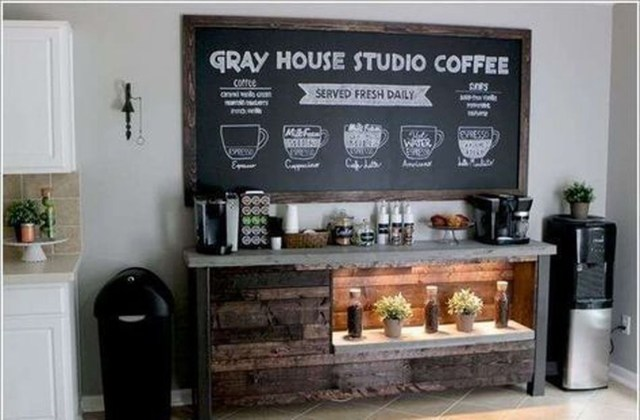 Magnificient Home Coffee Bar Design Ideas You Must Have 34