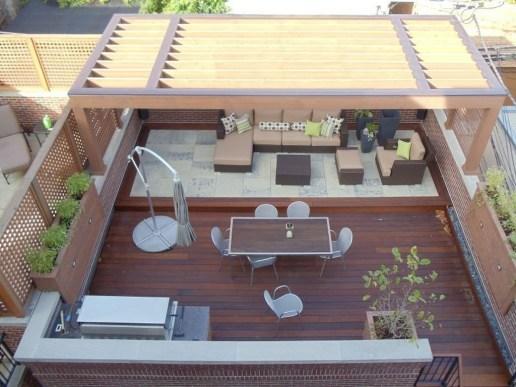 Modern Roof Terrace Design Ideas 31