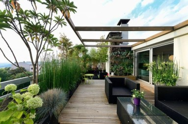 Modern Roof Terrace Design Ideas 33