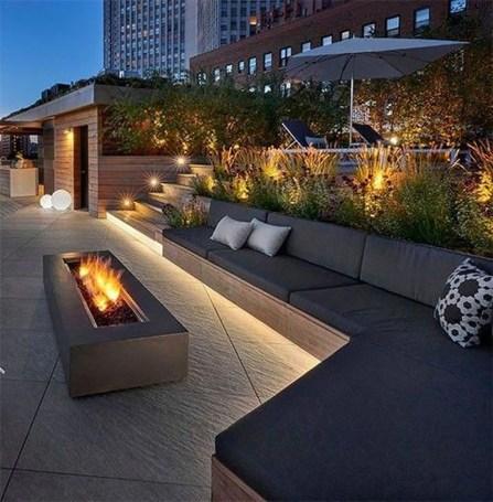 Modern Roof Terrace Design Ideas 34