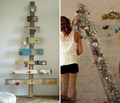 Pretty Space Decoration Ideas With Christmas Tree Lights 14