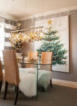 Pretty Space Decoration Ideas With Christmas Tree Lights 31
