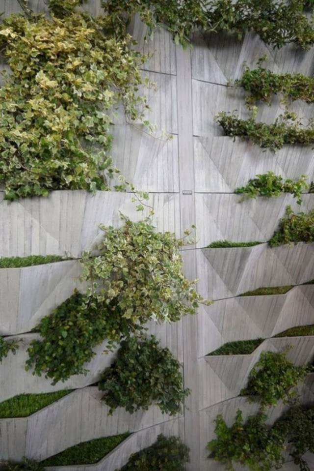 Rustic Wall Outdoor Concrete Ideas For Inspiration 08