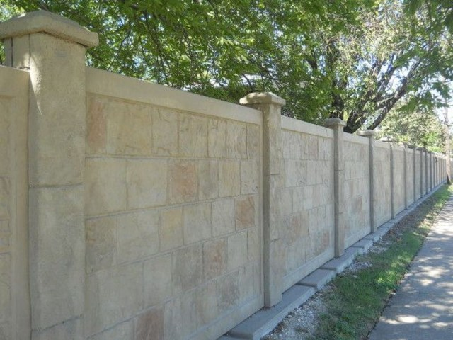 Rustic Wall Outdoor Concrete Ideas For Inspiration 24