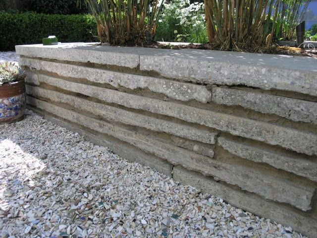 Rustic Wall Outdoor Concrete Ideas For Inspiration 28