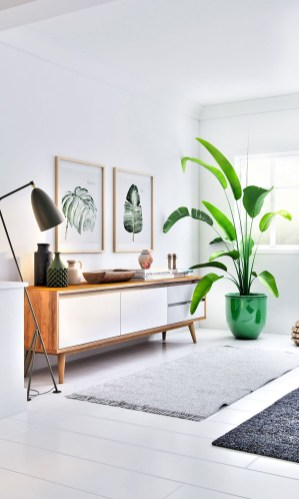 Smart Interior Design Ideas With Plants For Home 31