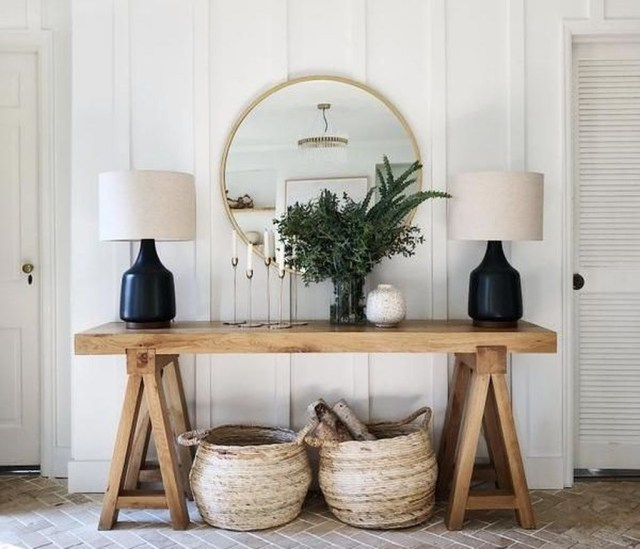 Splendid Entryway Home Décor Ideas That Make Your Place Look Cool 03