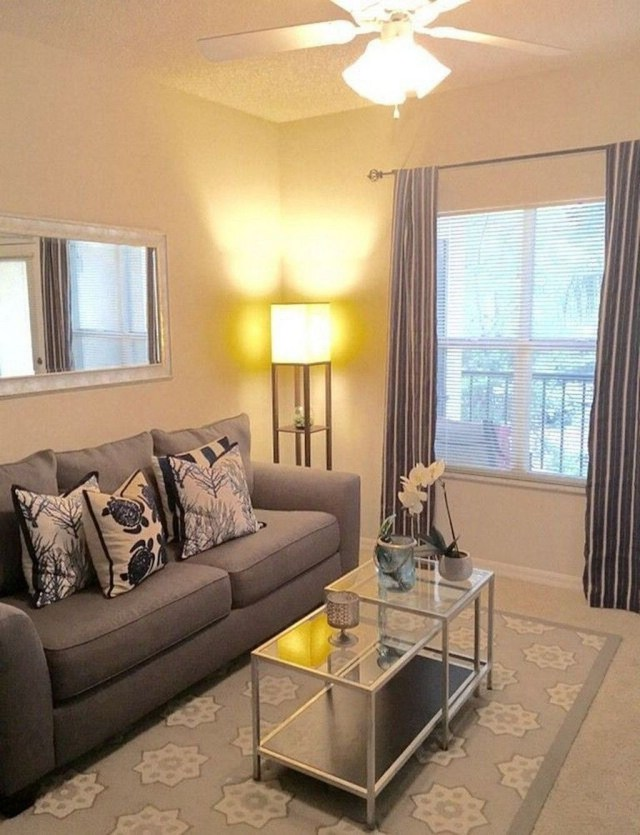Stunning Apartment Living Room Decorating Ideas On A Budget 23