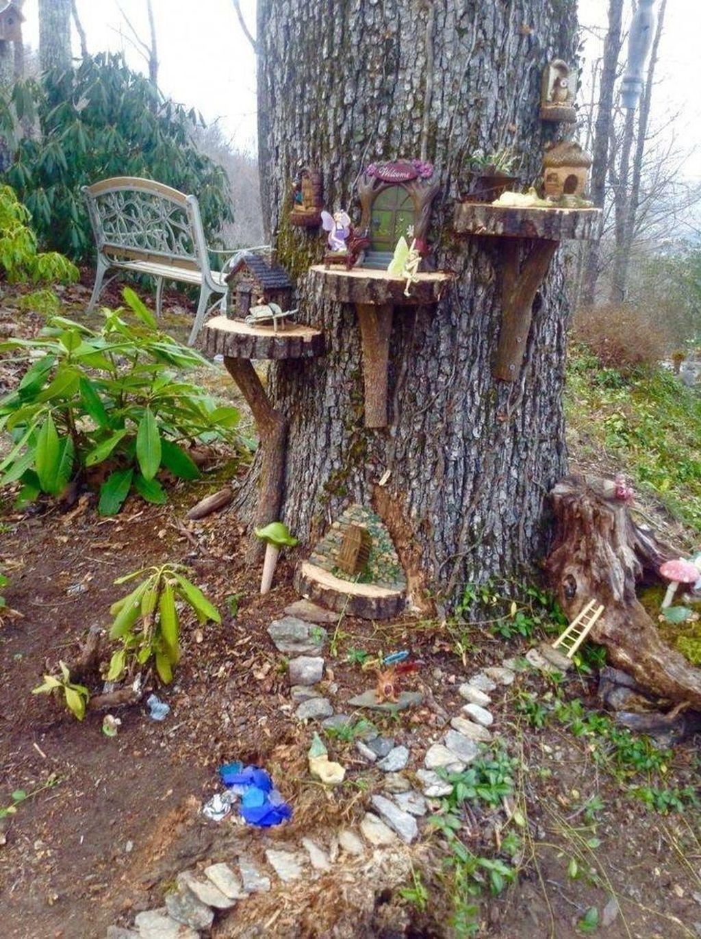 Unordinary Magical Fairy Garden Design Ideas To Try 07