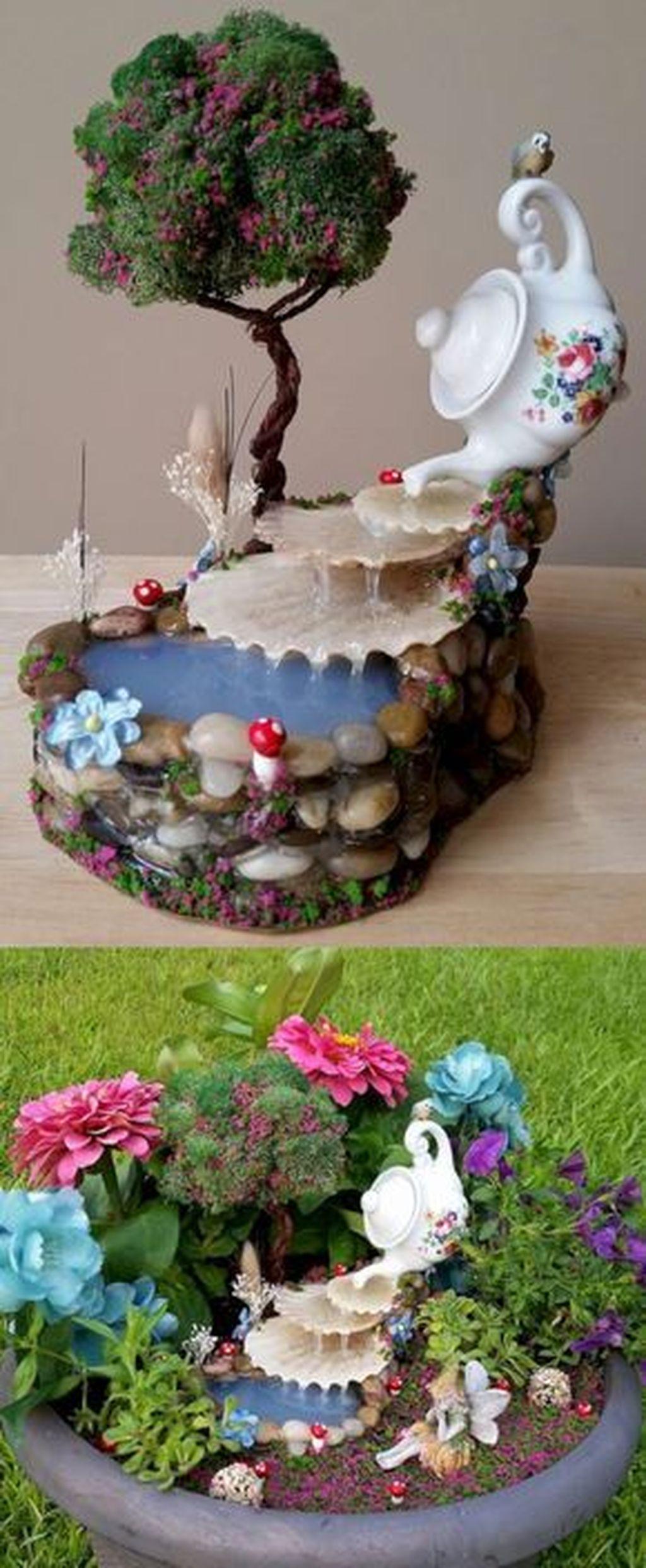 Unordinary Magical Fairy Garden Design Ideas To Try 13