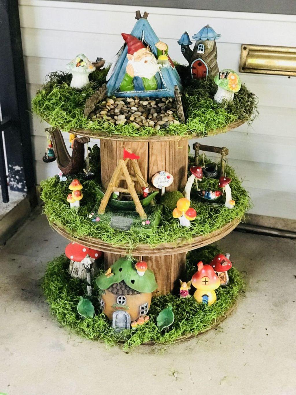 Unordinary Magical Fairy Garden Design Ideas To Try 24