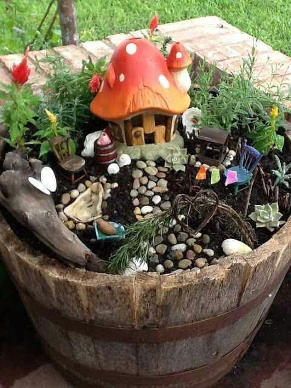 Unordinary Magical Fairy Garden Design Ideas To Try 31