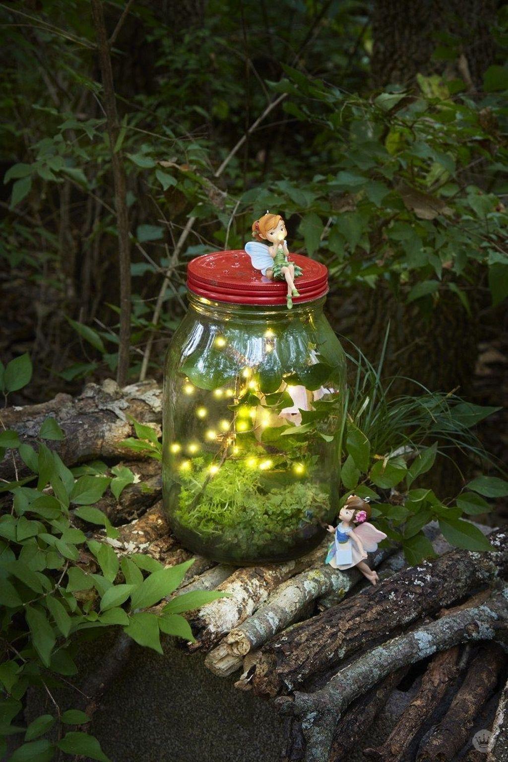 Unordinary Magical Fairy Garden Design Ideas To Try 33