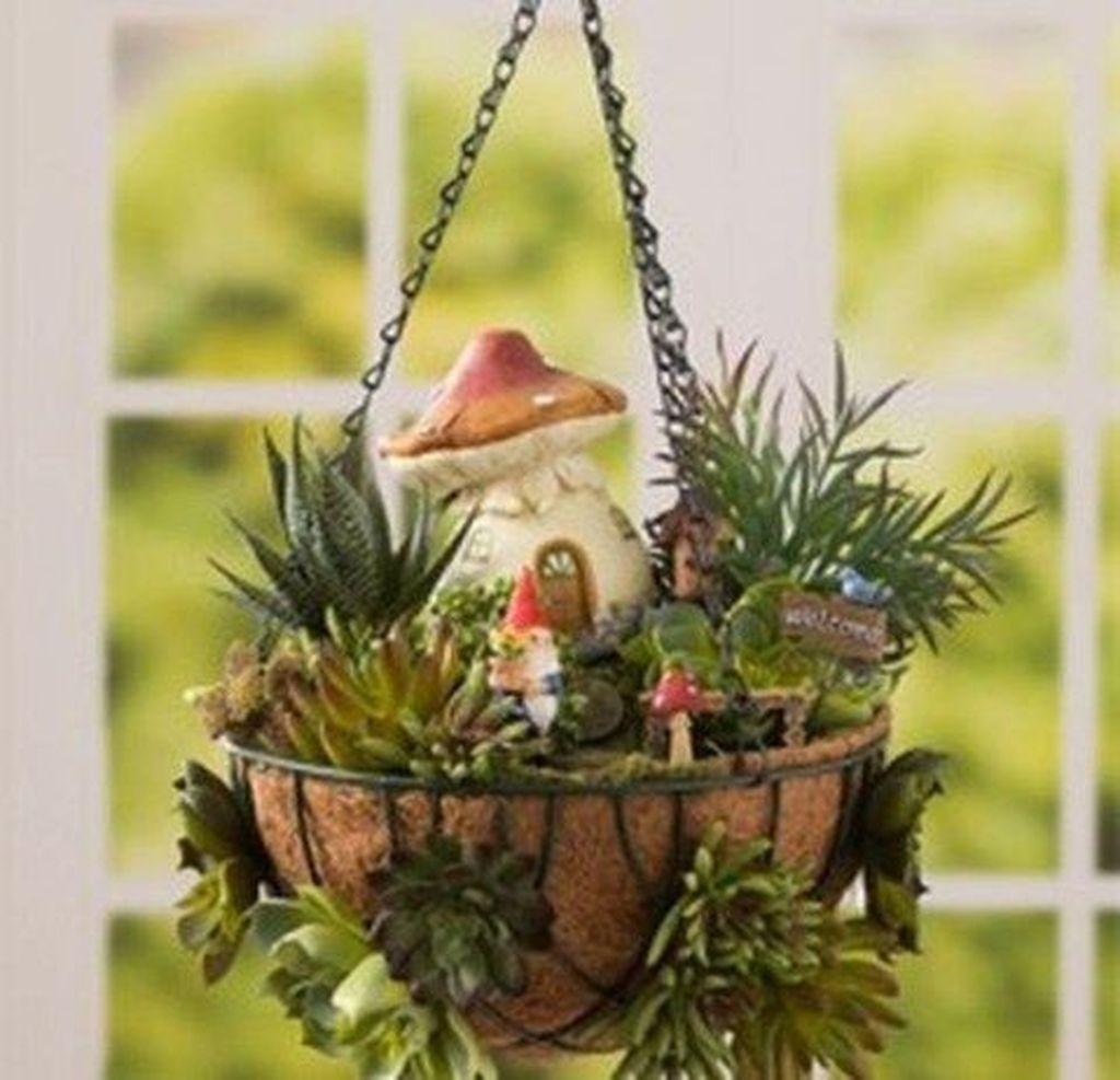 Unordinary Magical Fairy Garden Design Ideas To Try 43