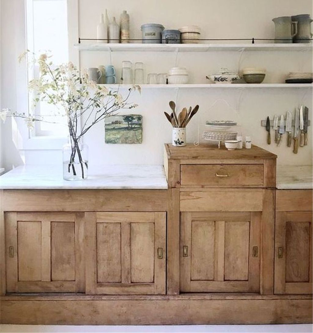 Adorable Kitchen Cabinet Ideas That Looks Neat To Try 04